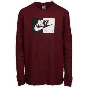 Grade School Nike D-Block Long Sleeve Shirt Small